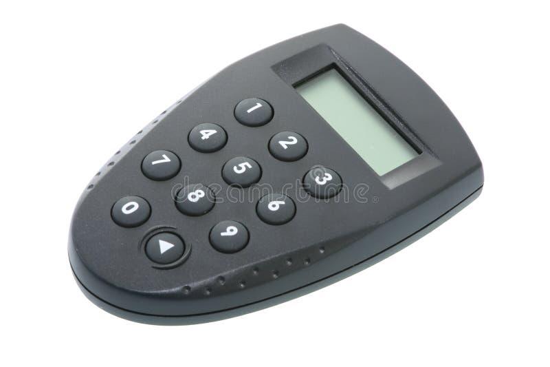 Calculatrice de code de Pin photo libre de droits