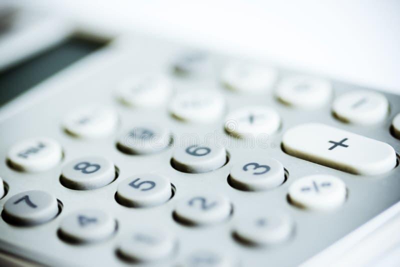 Calculatrice moderne photo libre de droits
