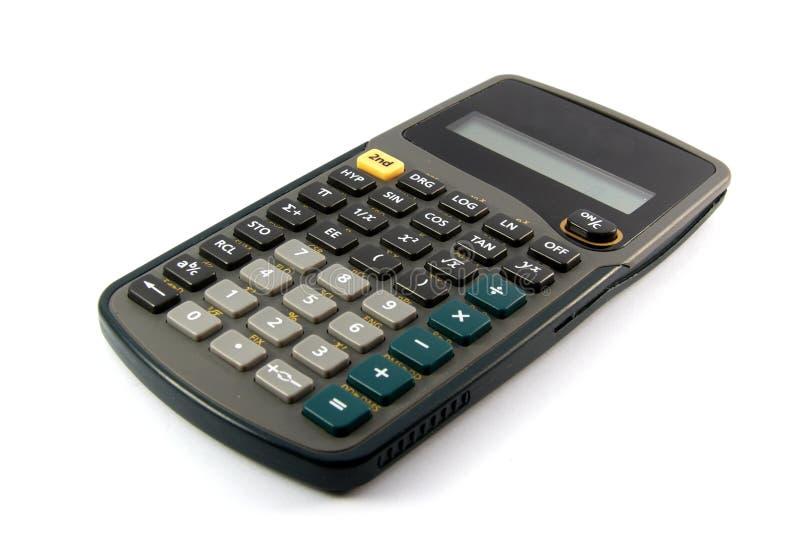 Calculatrice scientifique images libres de droits