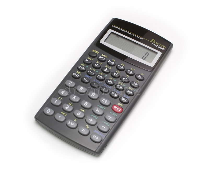 Calculatrice scientifique photos stock