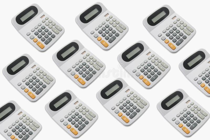 Calculatrices photo libre de droits