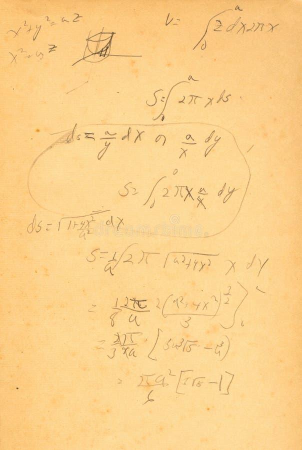 calculus arkivbild