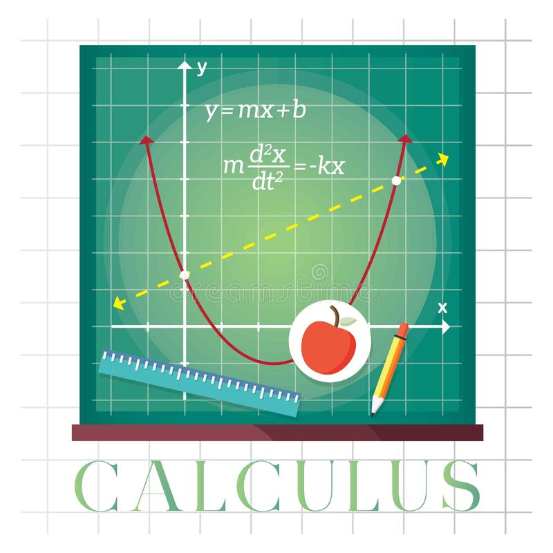 Free Calculus Concept. Vector Illustration Decorative Design Stock Image - 192475741