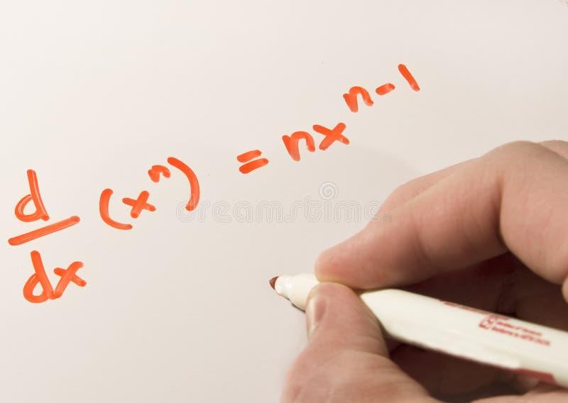 calculusarbete royaltyfria foton