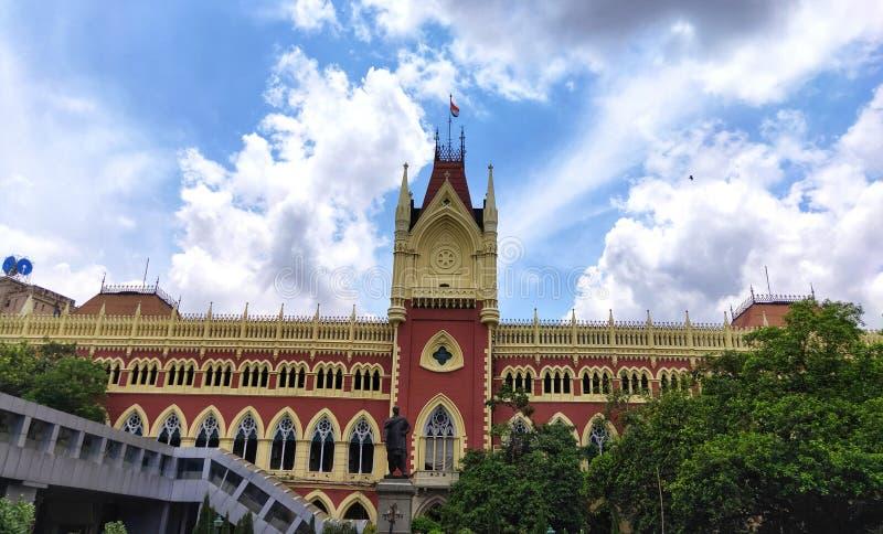 Calcutta sąd najwyższy jest starym sądem najwyższy w India zdjęcia royalty free