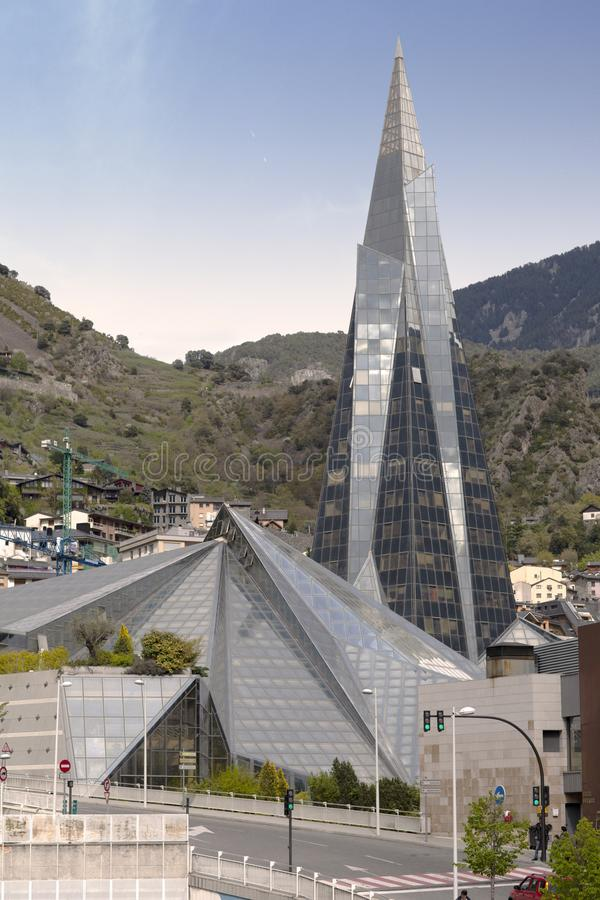 Caldea Andorra la Vella royalty free stock photography