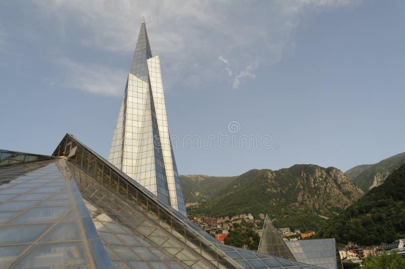 Caldea i Innu, Andorra; wielki termiczny centre w Europa zdjęcie royalty free