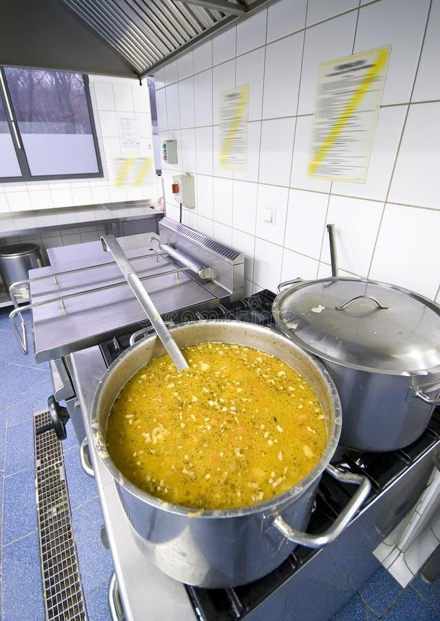 Caldeirões da cozinha imagens de stock