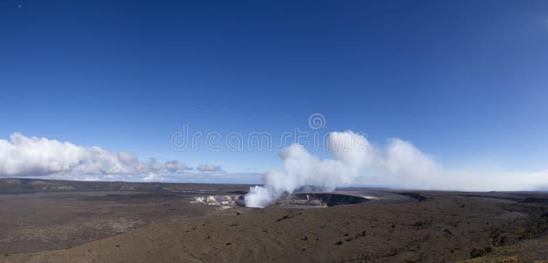 Caldeira de Kilauea image stock