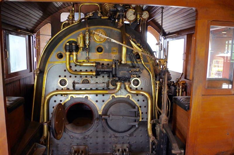 Caldeira locomotiva imagem de stock
