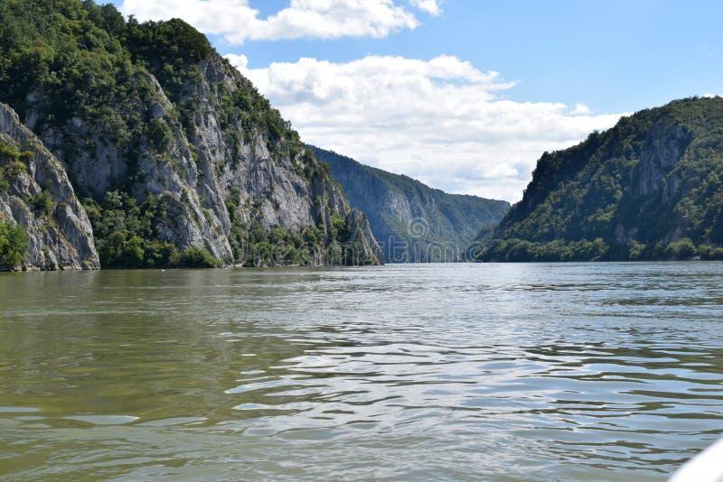 Caldeiras de Danube River - de Danúbio fotos de stock