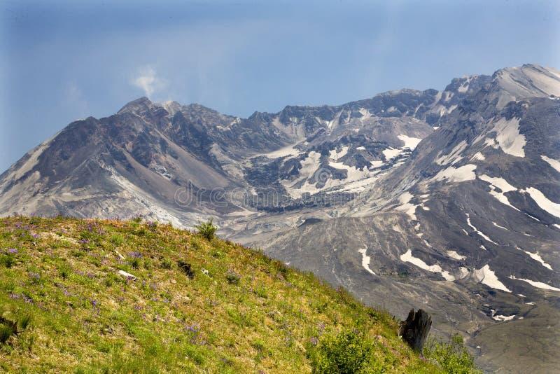 caldera η λάβα θόλων helens επικολλά Άγιο στοκ φωτογραφίες