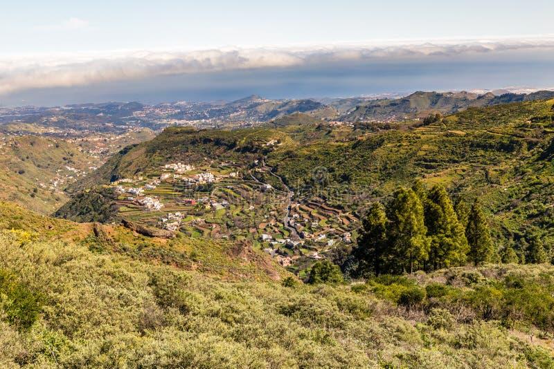Caldera av Tejeda - Gran Canaria, Spanien arkivfoton