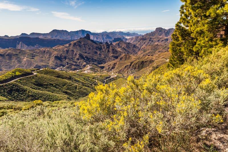 Caldera av Tejeda - Gran Canaria, Spanien fotografering för bildbyråer