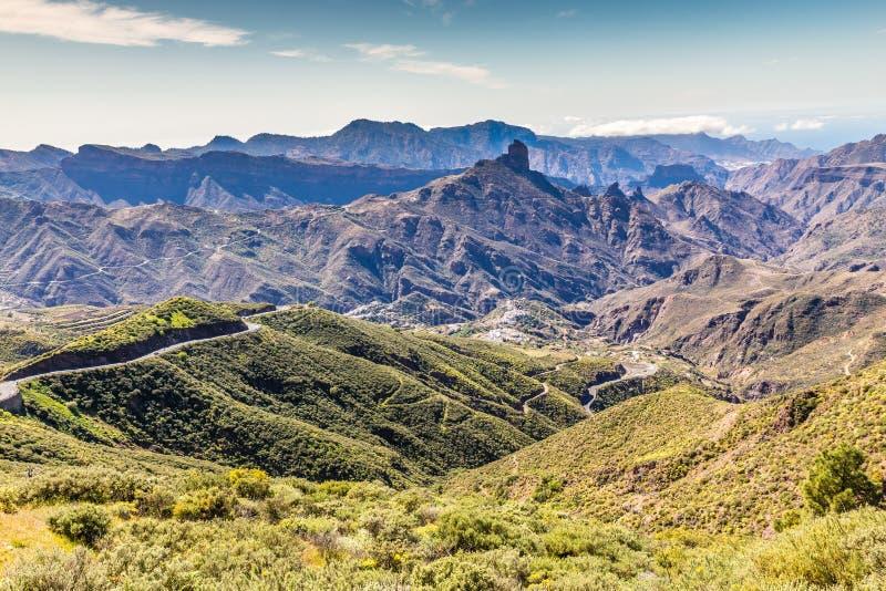 Caldera av Tejeda - Gran Canaria, Spanien royaltyfria bilder