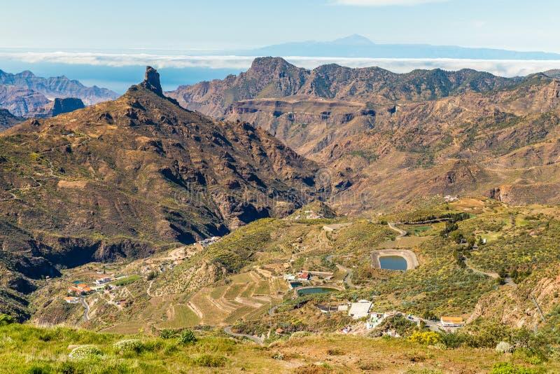 Caldera av Tejeda - Gran Canaria, Spanien royaltyfri bild