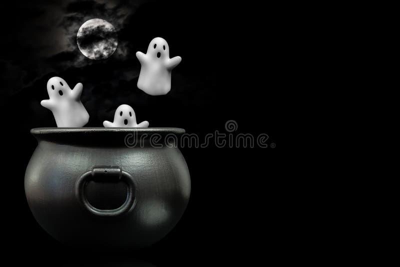 Caldera de fantasmas imágenes de archivo libres de regalías