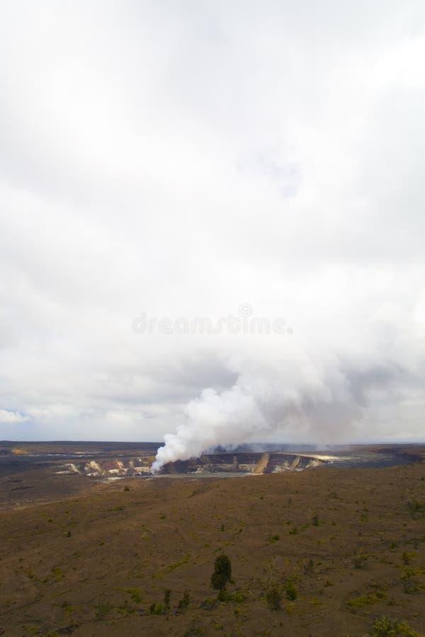 Caldera de Kilauea, Kona, HI fotos de stock royalty free