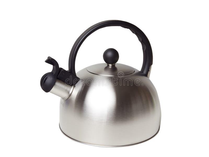 Caldera de té imagen de archivo