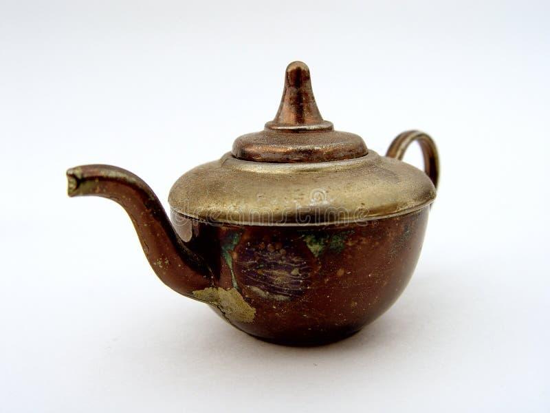 Caldera de té imagen de archivo libre de regalías