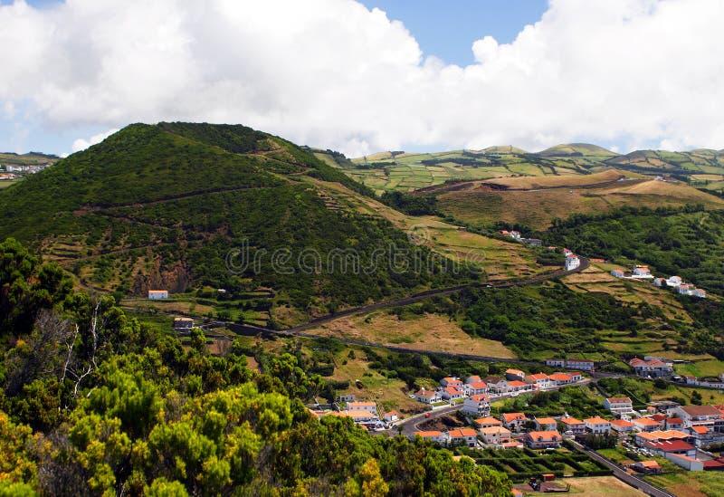 Caldera en la isla de Jorge del sao imagen de archivo libre de regalías