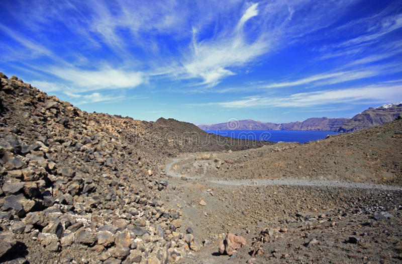 Download Caldera Pathway Stock Images - Image: 14291354