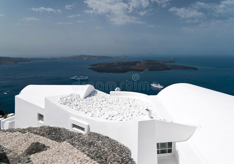 Download Caldera view in Santorini stock photo. Image of greece - 23949870