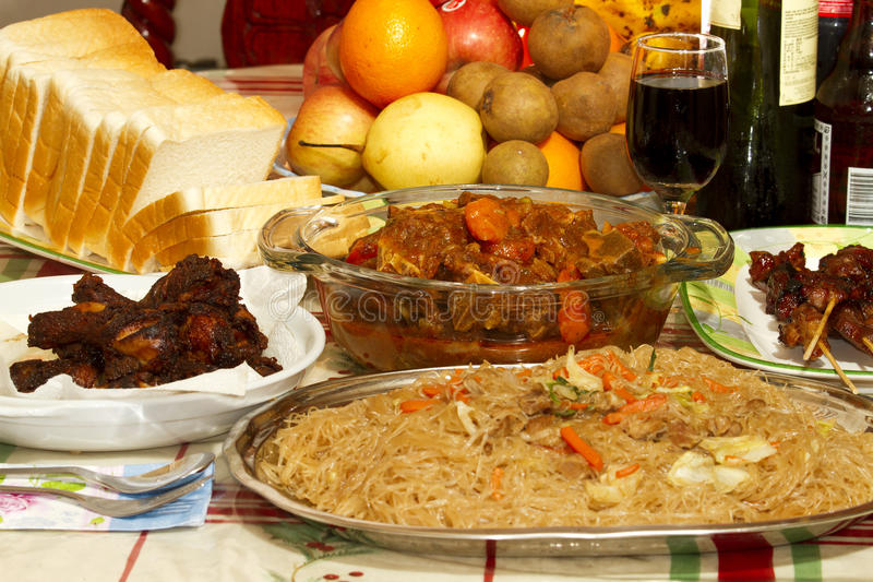 Caldereta dish stock image