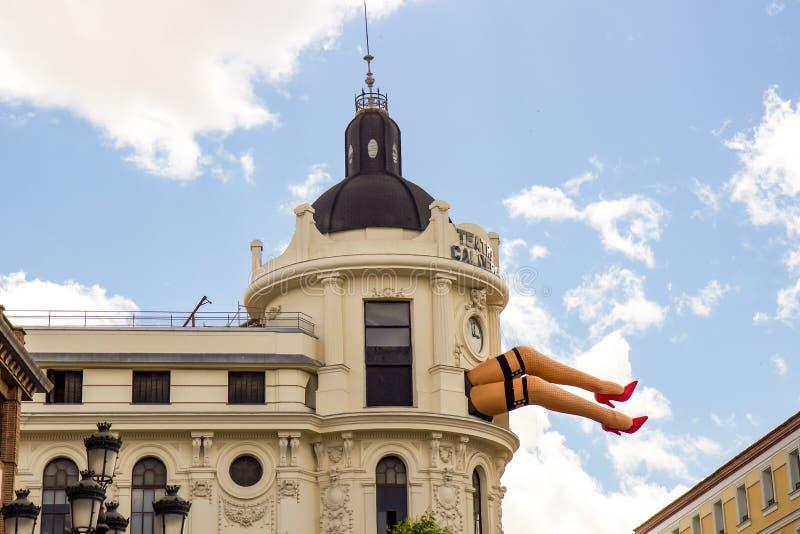 Calderon剧院 免版税库存图片
