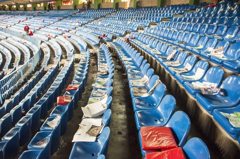 calderon κενά καθίσματα Vicente της Μαδρίτης στοκ εικόνες