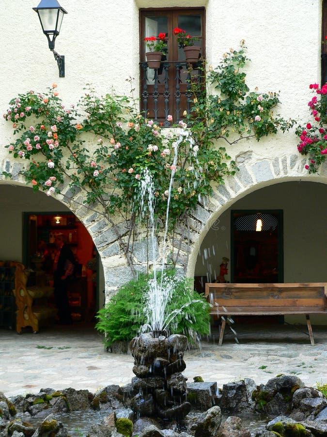 Caldes DE Boi, Lleida (Spanje) royalty-vrije stock afbeeldingen