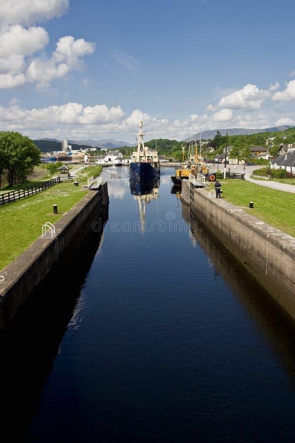 Caledonian Canal stock photos