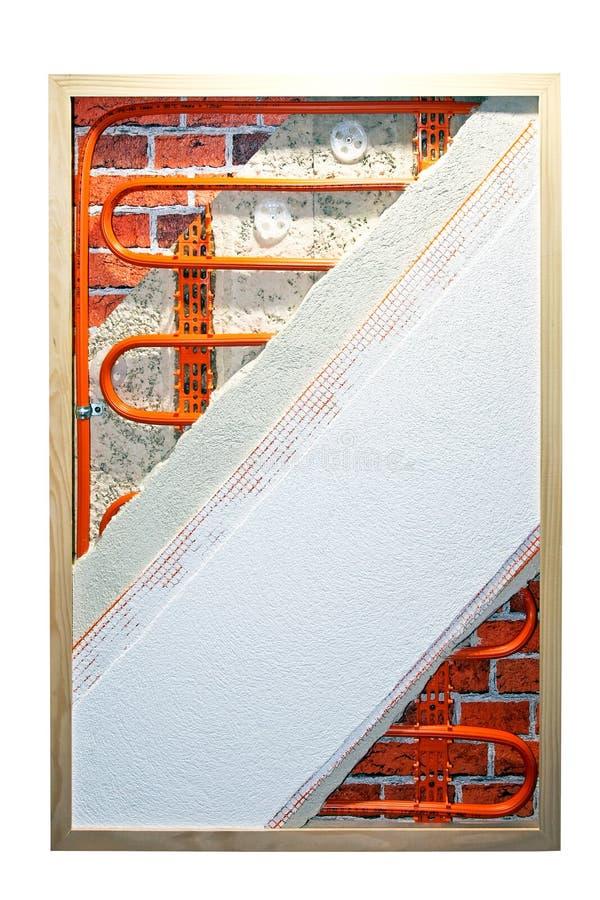 Calefacción de la pared imagen de archivo libre de regalías