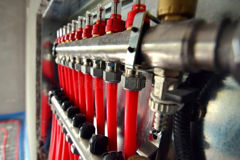 Calefacción de piso 5 imagen de archivo libre de regalías
