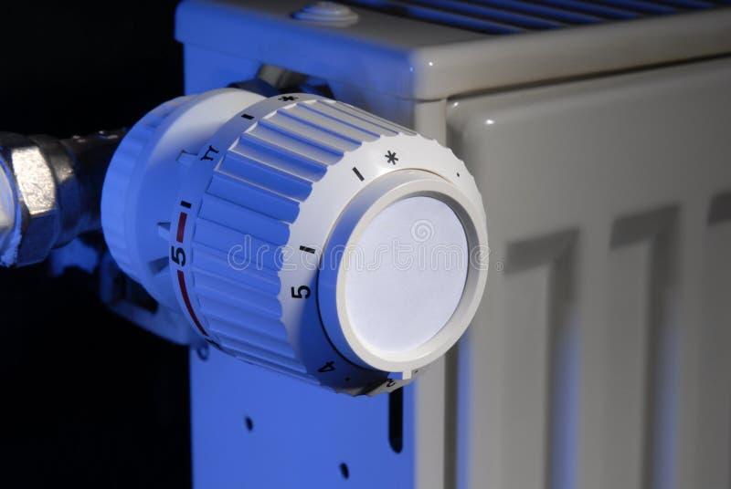 Calefacción del termóstato imágenes de archivo libres de regalías