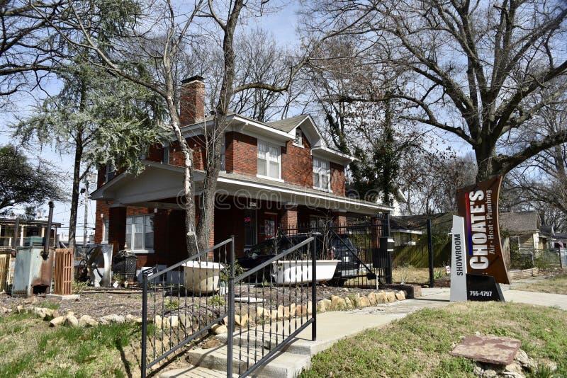 Calefacción y aire acondicionado Memphis, TN de Choates foto de archivo libre de regalías
