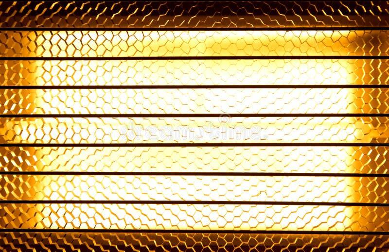 Calefator do halogênio fotos de stock