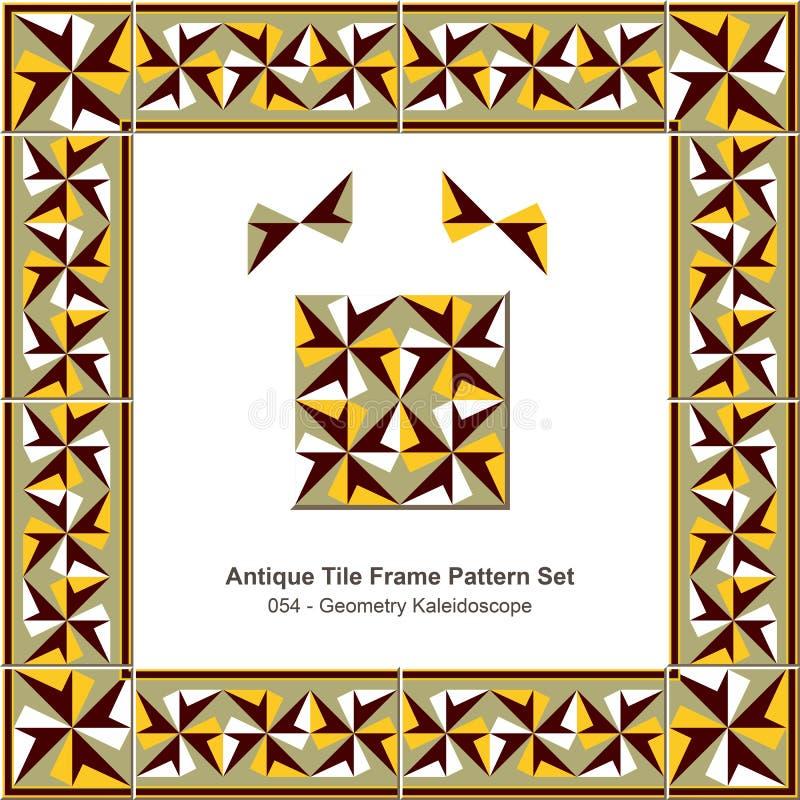 Download Caleidoscópio Antigo Da Geometria Do Teste Padrão Set_054 Do Quadro Da Telha Ilustração do Vetor - Ilustração de curva, cerâmico: 65579134