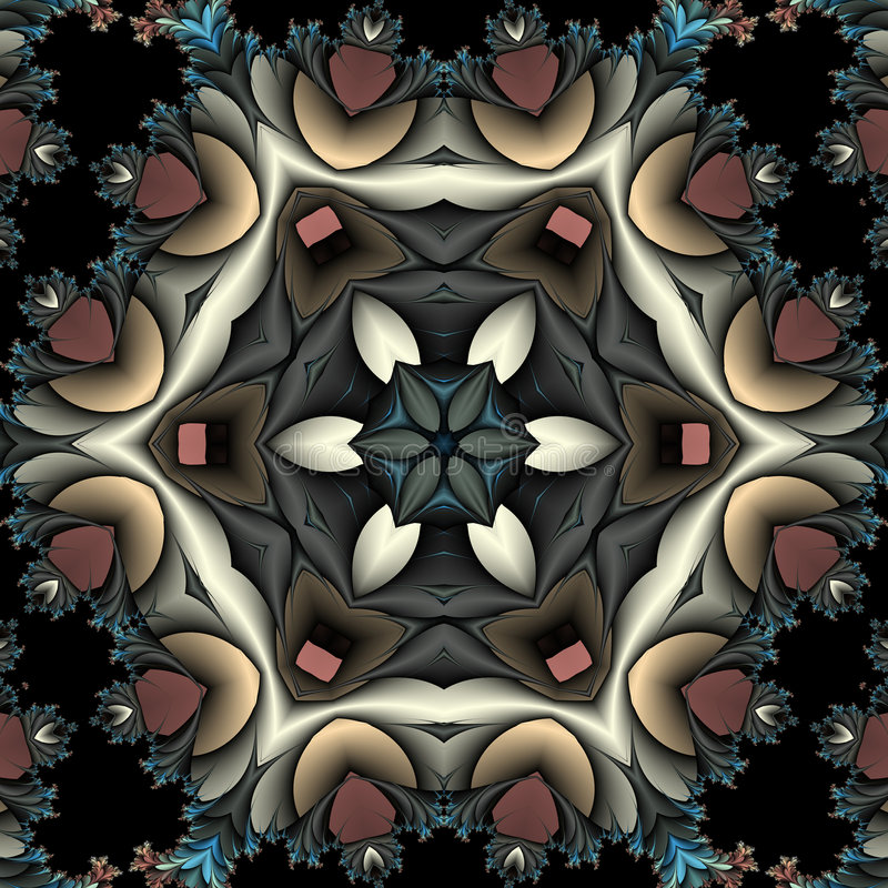 Caleidoscopio con la franja libre illustration