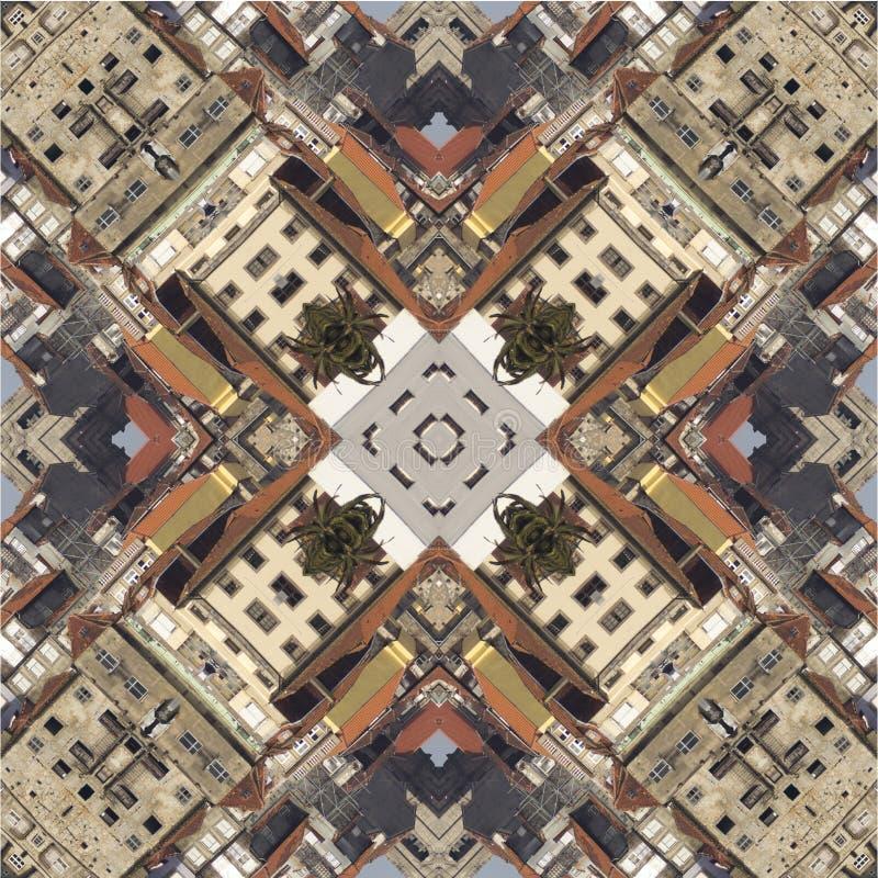 Caleidoscopio, cuadrado, textura, modelo, simetría, fondo, extracto, papel pintado, abstracción, texturizado, repetidor, geométri imagen de archivo libre de regalías
