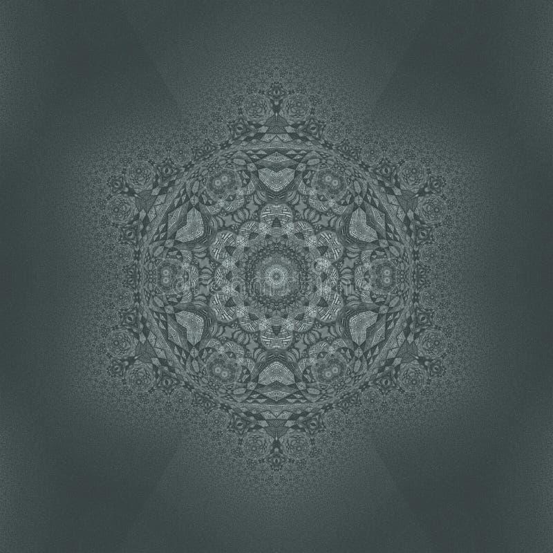 Caleidoscopio del modello delle mattonelle dei blocchetti dei mattoni geometrico illustrazione vettoriale