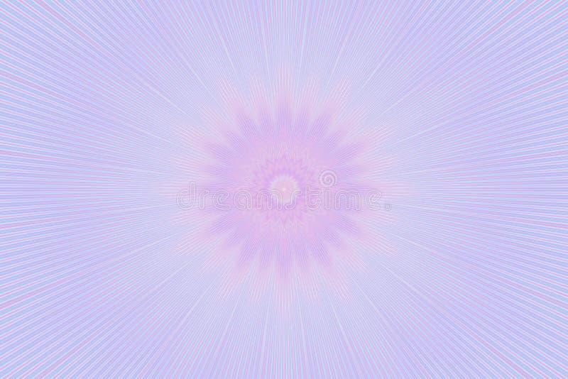 Caleidoscopio floreale del modello molle del fiore complicato royalty illustrazione gratis