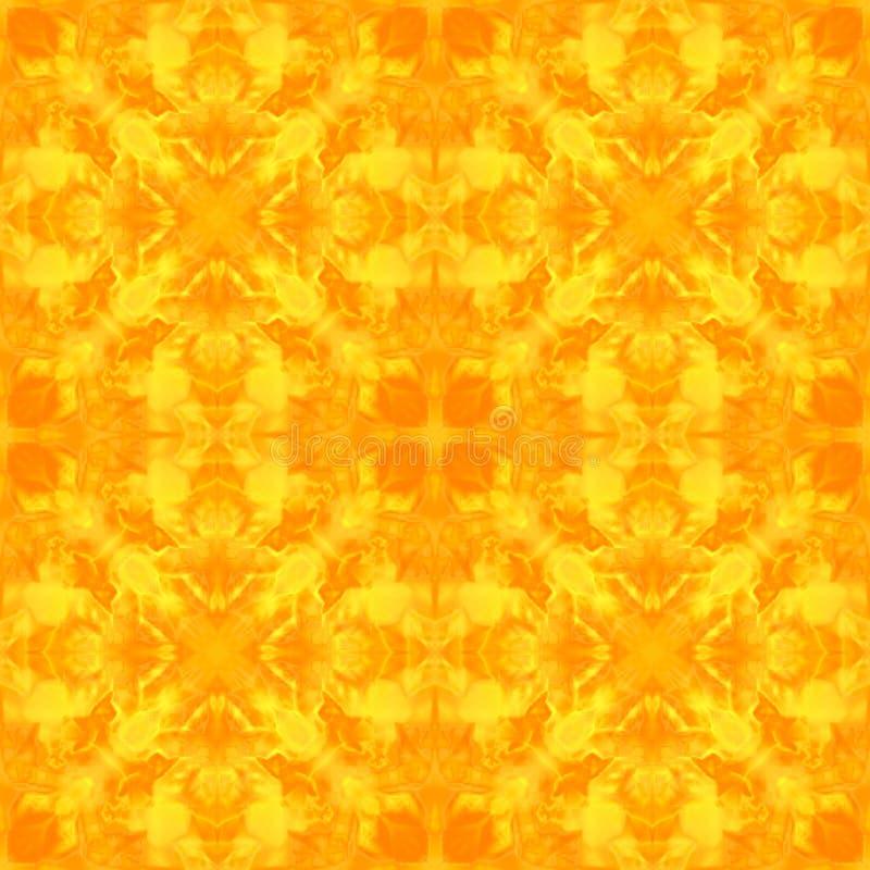 Caleidoscopio redondo de seda multicolor abstracto de la mandala libre illustration