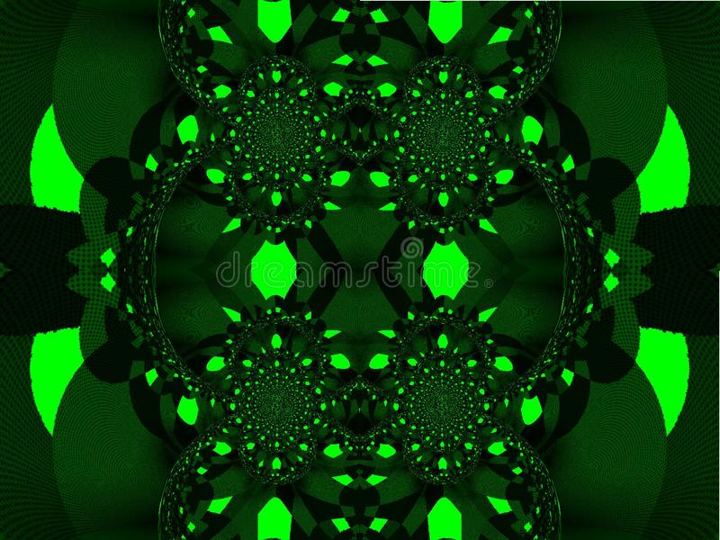 Caleidoscopio Visione ingannevole royalty illustrazione gratis