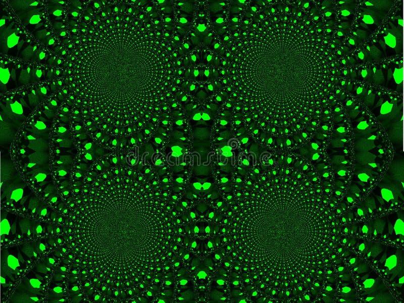 Caleidoscopio Visione ingannevole illustrazione di stock
