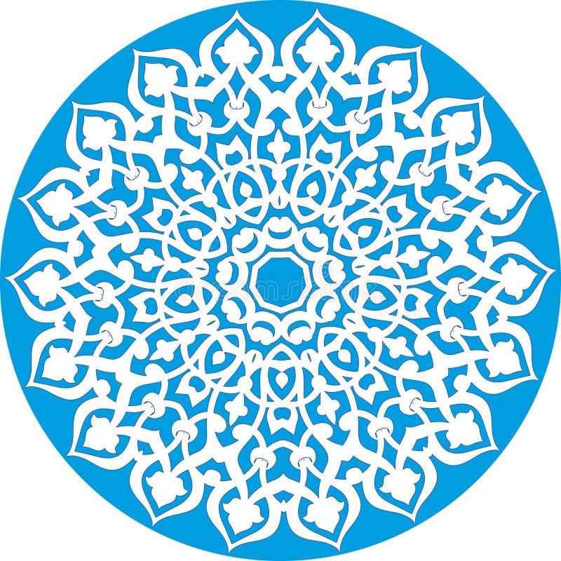 Caleidoscopisch bloemenpatroon vector illustratie