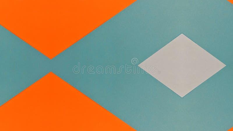 Caleidoscopische illustratie van gekleurde documenten stock illustratie
