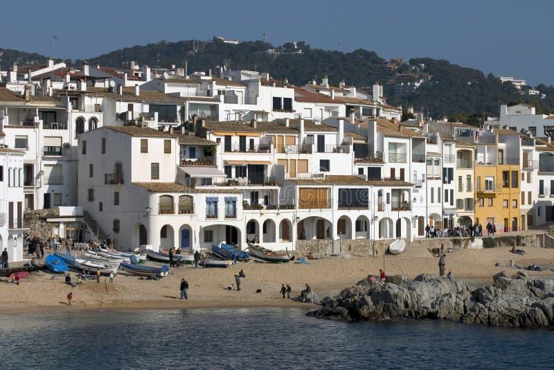 Calella Καταλωνία De Palafrugell Ισπανία Στοκ Φωτογραφία