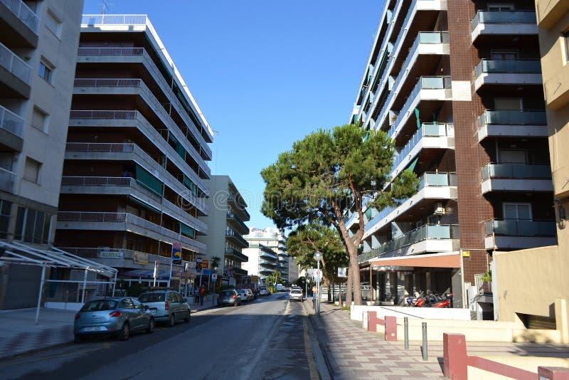Calella, Costa-Brava Beach. Editorial Stock Image