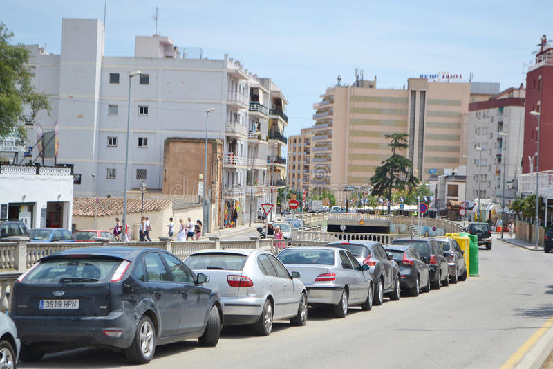 Download Calella, Costa-Brava Beach. Editorial Photography - Image of morning, catalunia: 34557962